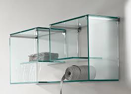 3 tier glass shelving unit