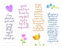 Join our bible journaling facebook group of over 1,000 for free printable announcements, videos and more. Free Printable Scripture Bookmarks Southern Plate