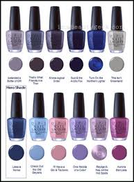 Opi Purple Color Chart Opi California Dreaming Collection Swatches Review 2017