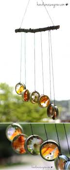 Easy Beautiful Handmade Wind Chimes | Homemade Nature Suncatcher Wind Chimes  by DIY Ready at http