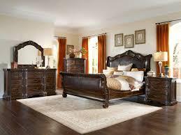 a r t furniture valencia dark oak sleigh bedroom set