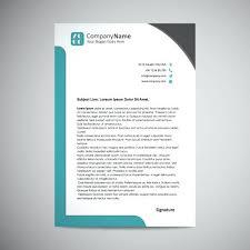 free personal letterhead free letterhead templates letterhead template design free vector