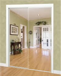 custom sliding mirror panel doors