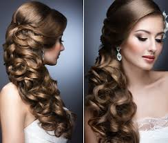 Capelli Semi Raccolti Sposa 30 Acconciature Incantevoli
