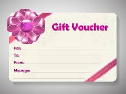 Gift Voucher Template Printable Free Printable Gift