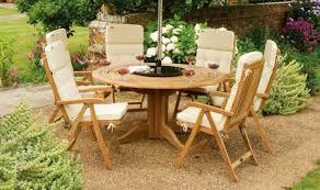 garden furniture set wooden outdoor furniture round garden table