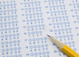 bubble in test sheet test on scantron stock photo image of pencil choose 20571218