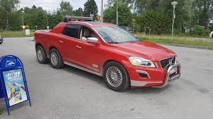 Volvo XC60 6x6 and XC70 D5 Pickup Trucks Are Cool - autoevolution