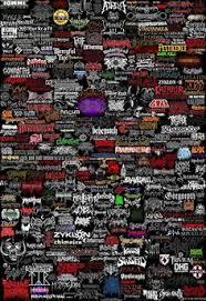 metal bands logos