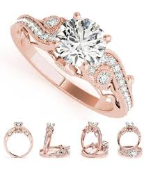 Design A Promise Ring Online Women Fashion Hollow Zircons Wedding Engagement Promise Ring