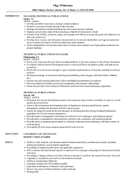 How To Put Publications On Resume Technical Publications Resume Samples Velvet Jobs 8