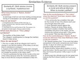 compare contrast essay grade language arts evidence to support the difference between these 2 stories click to enlarge