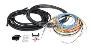 holley efi 550 604 hp efi ecu harness kits holley performance universal unterminated ignition harness