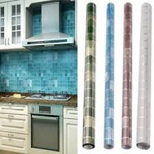 contact paper on furniture. Image Is Loading Mosaic-Aluminum-Foil-Oil-Proof-Home-Furniture-Wall- Contact Paper On Furniture A