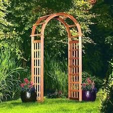 garden arches arbors australia trellis wood kits cedar arbor small garden arbor