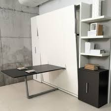 murphy bed home office combination. The Ulisse Dining Is A Queen-size Wall Bed Featuring An Integrated Table That Can Seat Up To Five People. This Sophisticated Space-saving \u201c Murphy Home Office Combination