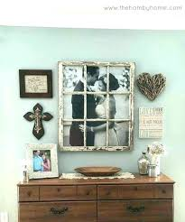 wood window frame decor old frames wall best ideas about on wooden crafts