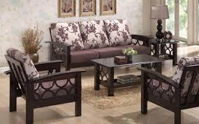 furniture design sofa set. Wood Sofa Set Designs Rectangle Square Shaped Ivory Purple Black Colour Modern Furniture Armchairs Patterns Backrest Design Y