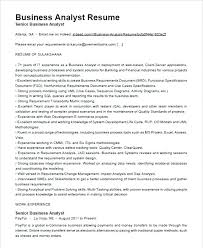 Business Analyst Resume Examples Australia