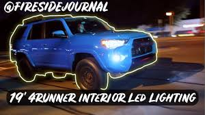 19 4runner Interior Led Lights License Plate Light Cheap Modification