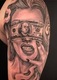 тату эскизы деньги