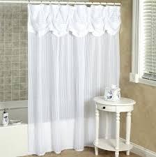 elegant shower curtains attached valance swag shower curtain attached valance shower curtain with valance sets 17
