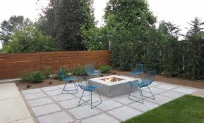 modern concrete patio. Modern Stamped Concrete Patio A