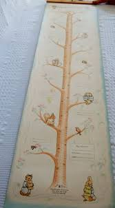 Murray Cod Growth Chart Vintage Beatrix Potter Growth Chart For Nursery Great