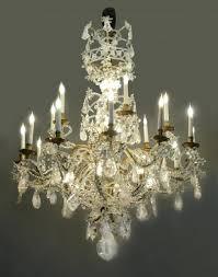 rock crystal chandelier twelve light cocovara lighting rock crystal chandelier
