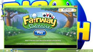 big fish s fairway solitaire on pc bluestacks