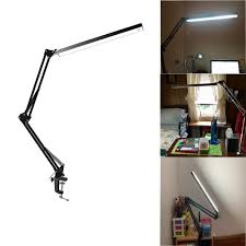 Desk Work Light Us 33 99 Led Architect Desk Lamp Clamp Lamp Metal Swing Arm Dimmable Task Lamp Highly Adjustable Office Work Light Touch Control In Desk Lamps