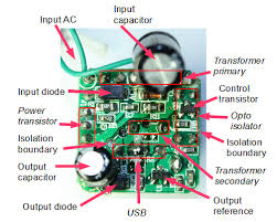 the circuit board inside a tiny usb charger knowledge the circuit board inside a tiny usb charger
