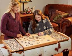 13 fun diy puzzle table plans you can
