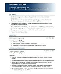Resume Samples For Freshers Engineers Pdf 4 Resume Template For