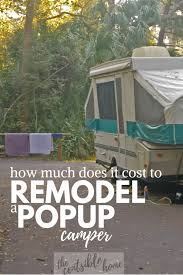 we scored an deal on a pop up camper which led me to ask