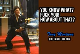 Scarface Quotes Extraordinary 48 Best Scarface Quotes By Tony Montana