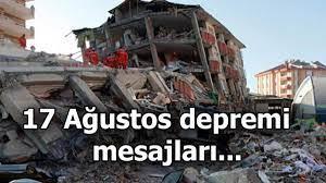 17 Ağustos depremi mesajları ve sözleri   Marmara depreminin (Gölcük -  İzmit) şiddeti kaçtı? - Son Dakika Haberler Milliyet
