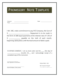 Basic Promissory Note Interesting Promissory Note Template Clever Hippo Free Promissory Note Template