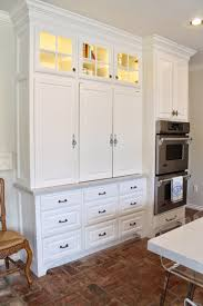 Kitchen Desk Eleven Gables Hidden Appliance Cabinet And Desk Command Center In