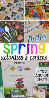Chart Activities For Preschool Spring Activities And Centers For Preschool Pre K And