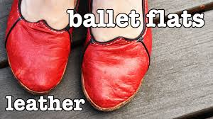 how to make leather shoes ballet flats