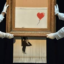 Shredded Banksy: was Sotheby's in on the act?   Art and design
