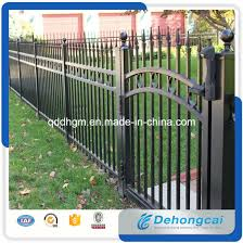wrought iron fence gate. Interesting Gate Customized Wrought Iron Fencing Stainless Steel FenceAluminium FencingFence  Gate With Fence N