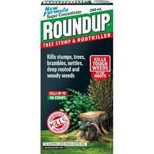 round up tree stump root 250ml