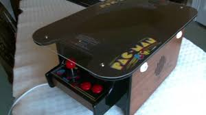 Cocktail Arcade Cabinet Mame Pc Pacman Cocktail Arcade Machine Cabinet Mini Replica