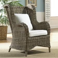Panama Jack Bedroom Furniture Panama Jack Sunroom Exuma Wingback Arm Chair With Cushion