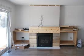 fireplace built in shelving 3 via the sweetest digs
