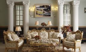 Interior:Elegant French Country Living Room With Gold Furniture Design  Ideas Classic french country interior