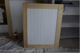 how to build kitchen cabinet doors cool diy built in barn tutorial