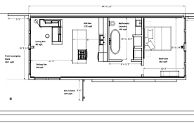270 sq ft floor plan by IKEA   Dream home   Pinterest   Tiny as well  further 190 best Tiny House Floor Plans images on Pinterest   Small houses further 20 Foot Shipping Container Floor Plan Brainstorm Tiny House Living furthermore 3D top view of our 640 sq ft Daybreak floor plan using 2 x 40 further 2056 best TINY HOUSE images on Pinterest   Architecture  Small together with  furthermore Free plans for a 720 sq  ft  shipping container house   2 Bedrooms additionally Professional contractors  electricians and plumbers were consulted further 190 best Tiny House Floor Plans images on Pinterest   Small houses also . on free tiny house plans small and shipping container 8 x 20 ft floor plan